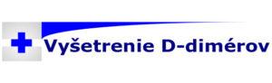 vyšetrenie D-dimérov
