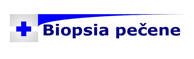 vyšetrenie biopsia pečene