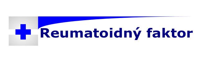 vyšetrenie reumatoidný faktor