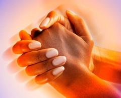 trasenie rúk