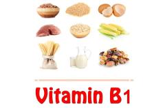 Nedostatok vitamínu B1